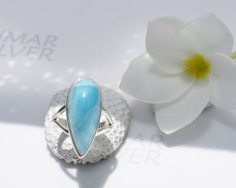 SOLD,OUT,-,Larimarandsilver,ring,size,7.25,,Turquoise,Sky,topaz,blue,Larimar,pear,,Swiss,blue,,clear,sky,,turquoise,ring,,handmade,larimar,Jewelry,Ring,larimar_ring,larimar_drop,larimar_stone,pear_larimar,azure,crystal_blue,soft_blue,ice_blue_ring,blue_pectolite,turquoise_ring,topaz_blue,Swiss_blue_ring,clear_sky,925 sterling silver,aka Pectolite,aka Atlantis stone,aka Dolphin stone