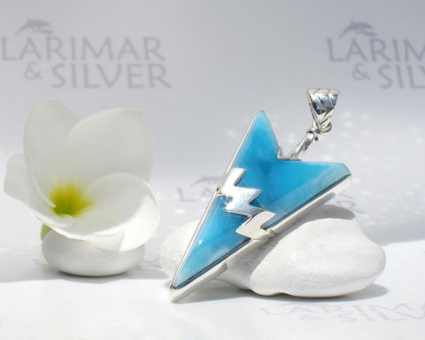 Larimarandsilver,pendant,,Electric,Arrow,-,volcanic,blue,Larimar,arrowhead,,royal,blue,,flash,arrow,,handmade,pendant,Jewelry,Necklace,Larimar_pendant,arrowhead_pendant,larimar_arrow,sapphire_blue,electric_blue,blue_arrowhead,volcanic_blue,silver_lightning,flash_pendant,blue_flash,royal_blue,deep_blue,men_pendant,925 sterling silver,aka blue pectolite,aka Atlanti