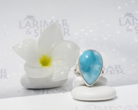 Larimarandsilver,ring,size,8,,Iridescent,Sky,-,azure,Larimar,pear,,turquoise,blue,ring,,wave,,larimar,,handmade,Jewelry,Ring,Larimar_ring,larimar_pear_ring,larimar_pear,blue_pear_ring,azure_blue_ring,turquoise_blue,sky_blue_ring,blue_stone_ring,turquoise_ring,dolphin_stone_ring,blue_pectolite_ring,blue_wave,pacific_blue_ring,925 sterling silver,aka Pectolit
