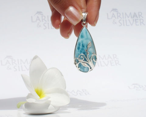 SOLD,OUT,-,Larimarandsilver,pendant,,Tear,of,Gaia,sea,blue,Larimar,pear,,aqua,teal,drop,,turtleback,,nymph,tear,,designer,handcrafted,pendant,Jewelry,Necklace,Larimar_pendant,pear_pendant,larimar_pear,sea_blue_drop,nymph_tear,blue_drop,elfin_tear,sea_green,organic_design,faery_tear,elemental_jewelry,Gaia_pendant,aqua_teal_drop,925 sterling silver,aka blue pectolite,aka Atlantis stone,ak