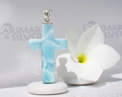 SOLD,OUT,-,Larimar,cross,by,Larimarandsilver,,Source,of,Purification,Jewelry,Necklace,Larimar_pendant,cross_pendant,larimar_cross,blue_cross,catholic_cross,Christian_cross,soft_blue,stone_cross,turtleback,pastel_blue,turquoise_cross,water_cross,unisex_pendant,925 sterling silver,aka blue pectolite,aka Atlantis ston