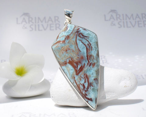 SOLD,OUT,-,Larimarandsilver,pendant,,Art,of,Gaia,cave,painting,look,alike,Larimar,,tribal,marbled,,Great,Mother,,handmade,Larimar,pendant,Jewelry,Necklace,larimar_pendant,shield_pendant,larimar_goddess,goddess_pendant,tribal_pendant,prehistoric_art,mother_goddess,prehistoric_painting,cave_of_Altamira,Lascaux_paintings,taino_pendant,gaia,fertility_goddess,925 sterling silver,aka Pect
