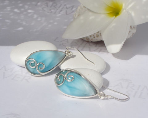 SOLD,OUT,-,Larimar,earrings,by,Larimarandsilver,,Mermaid,Glamour,4,aquamarine,drops,,dangling,,sea,blue,drop,,silver,waves,,cocktail,Jewelry,Earrings,Larimar_earrings,pear_earrings,cocktail_earrings,sea_drops_earrings,sea_blue,teardrop_earrings,water_drops,aqua_teal,Atlantis_stone,mermaid_earrings,silver_spirals,larimar_jewelry,925 sterling silver,aka Pectolite,aka A