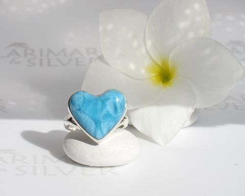 SOLD,OUT,-,AAA,Larimar,heart,ring,size,6.5,Caribbean,Passion,Larimar stone, heart stone, larimar heart, blue heart, turquoise heart, mermaid heart, Caribbean blue, AAA Larimar, volcanic blue, love stone, blue love, Caribbean turquoise, turtleback, azure blue, London blue, heart ring, Larimar ring, ring size 6.5, sk