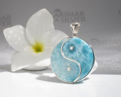 SOLD,OUT,-,Statement,Larimar,round,pendant,Mermaids,Tao,Larimar pendant, round pendant, disc pendant, larimar round, larimar disc, sea blue round, aqua teal round, aqua teal disc, siren pendant, mint blue, Larimar Tao, volcanic blue, goddess pendant, jade round, jade disc, foamy, sea foam, pastel blue, best la