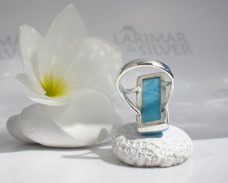 AAA Larimar ring size 7 - Ocean View - product images  of