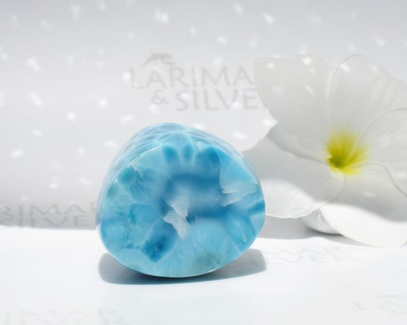 SOLD OUT - Larimar stone specimen - Pilar of Atlantis     - product images  of