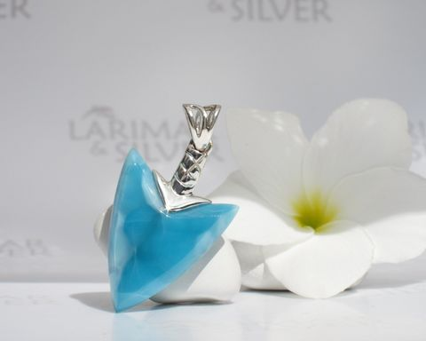 SOLD,OUT,-,Reversible,Larimar,arrowhead,pendant,Warrior,of,Atlantis,Larimar arrowhead, Larimar arrow, larimar arrow pendant, blue arrow pendant, arrowhead pendant, reversible Larimar pendant, unisex larimar pendant, taino pendant, larimar men pendant, larimar surf pendant, Caribbean blue pendant, Larimar jewelry