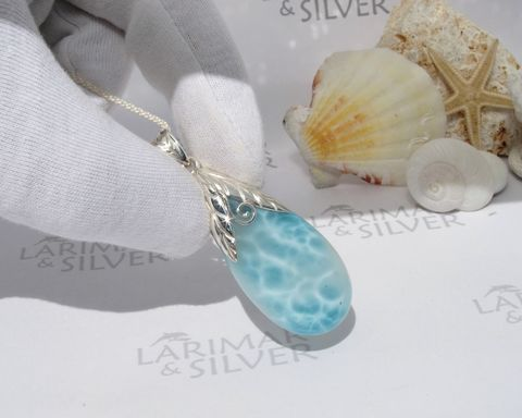Big,Larimar,drop,pendant,-,Tinkerbell,Fountain,JP040,Larimar stone, aquamarine stone, larimar drop, blue drop, aaa larimar, sea blue drop, aqua teal pear, aqua blue pear, crystal blue drop, mermaid teardrop, blue pectolite drop, Atlantis stone drop, aquamarine pendant, Tinkerbell pendant, mermaid pendant, g