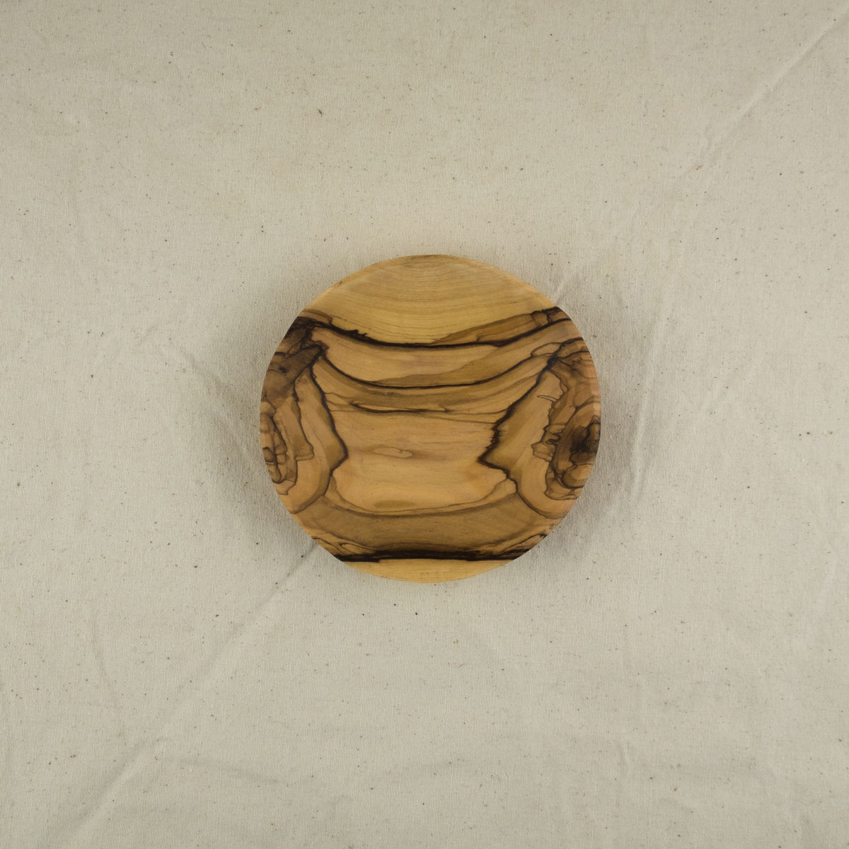 Olive wood small round bowl - Handcrafted in Palestine - product images  of