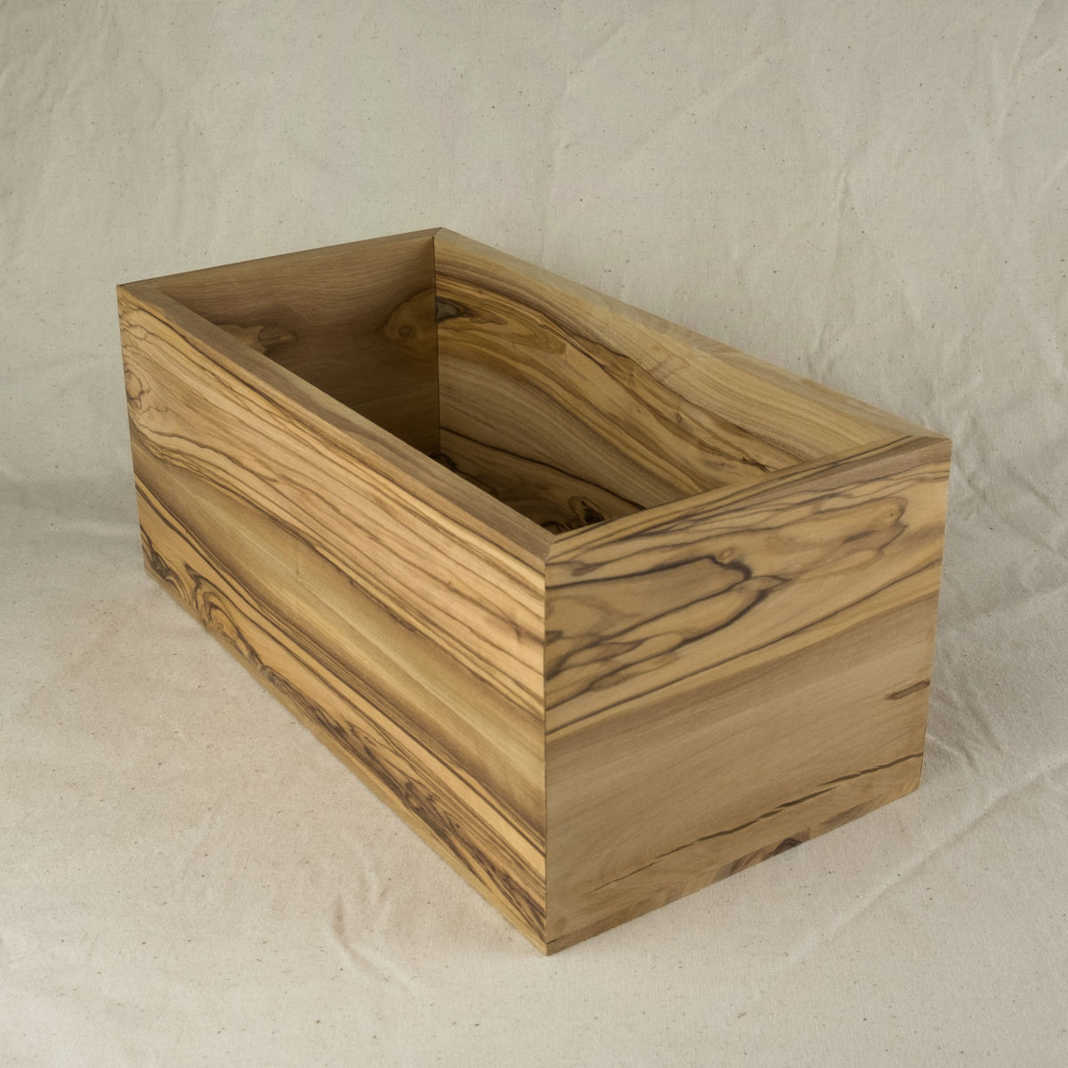 Large multi purpose olive wood box - product image