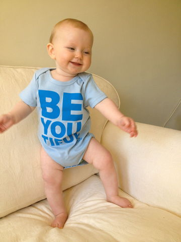 Babygrow,-,'BeYOUtiful'