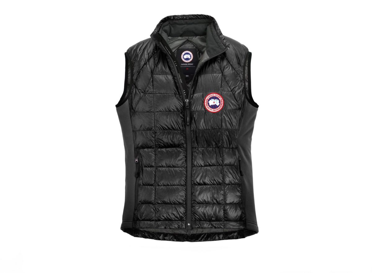 Canada Goose Hybridge Lite Vest Black Demand Attire
