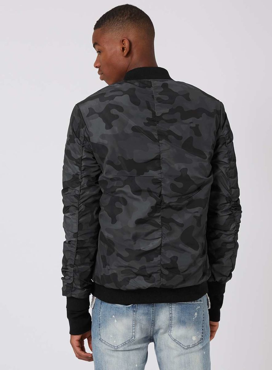 ef2b8fb16f3902 ... Sixth June Black Camo Bomber Jacket - product images of ...