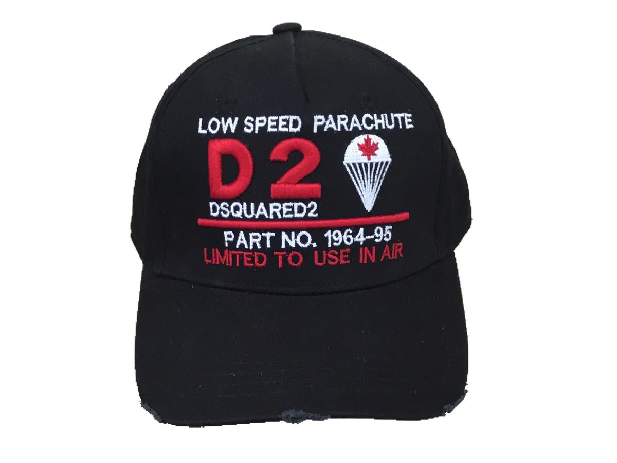 parachute patch cap - Blue Dsquared2 JpEnvw