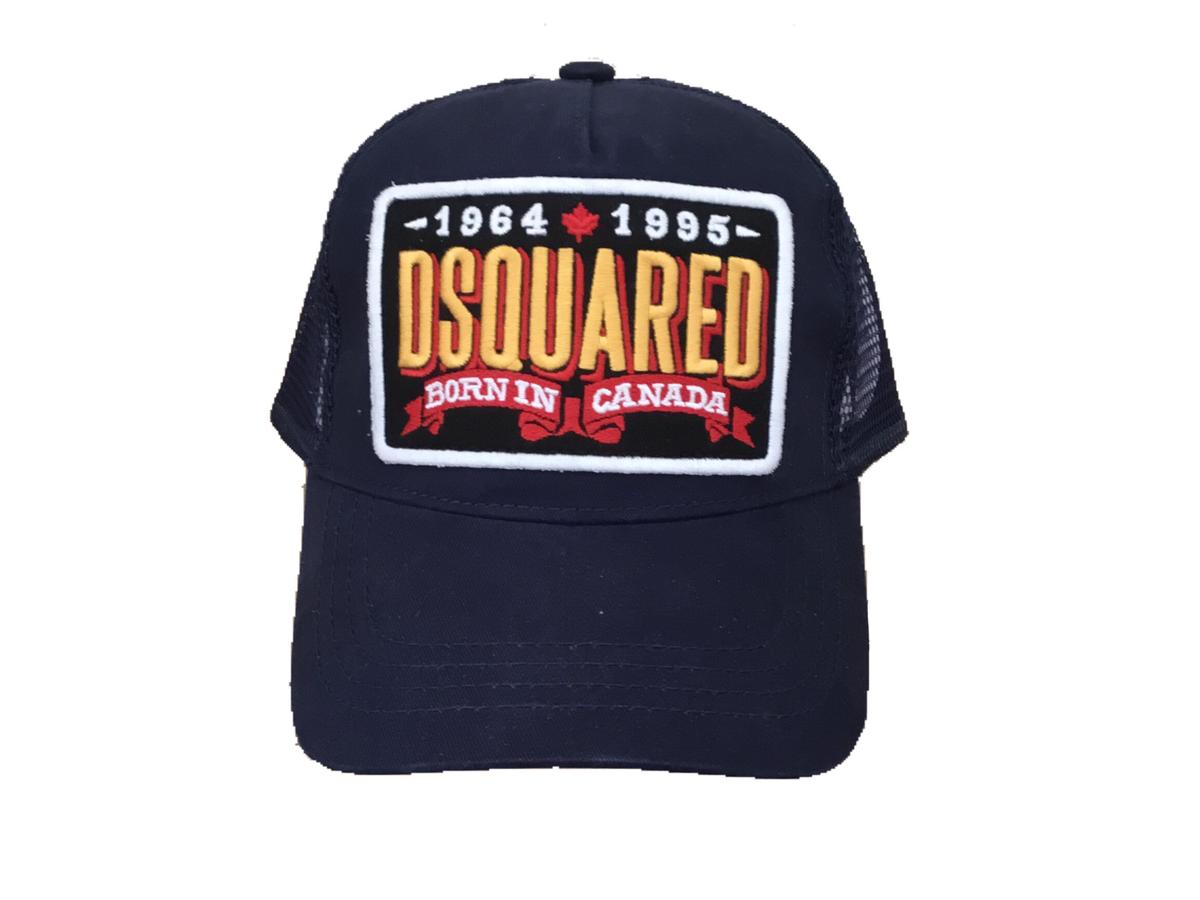 90e70a2208b Dsquared2 Trucker Cap Navy - Demand Attire
