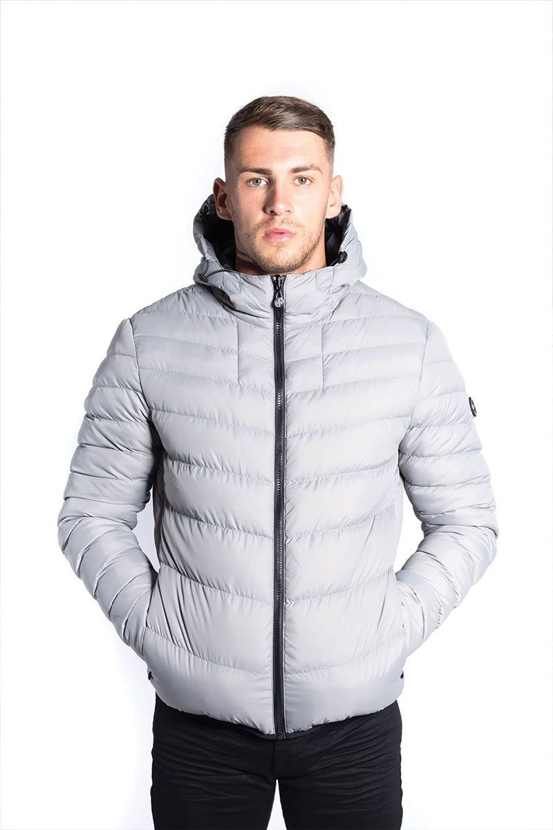 Foray Neptune Grey Reversable Jacket Demand Attire