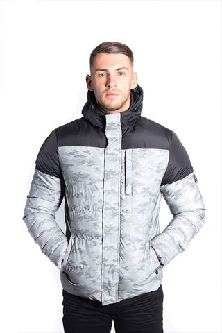 Foray,Prism,Grey,Reflective,Camo,Jacket,Foray jacket, foray, clothing, mens clothing, menswear, foray clothing, coat, jacket, neptune