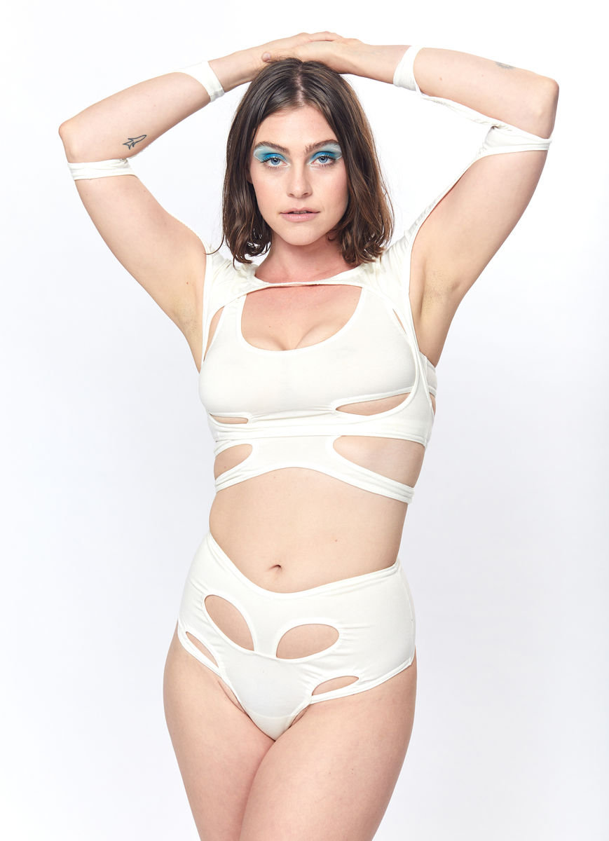 Pelvis Thong (White) - product images  of
