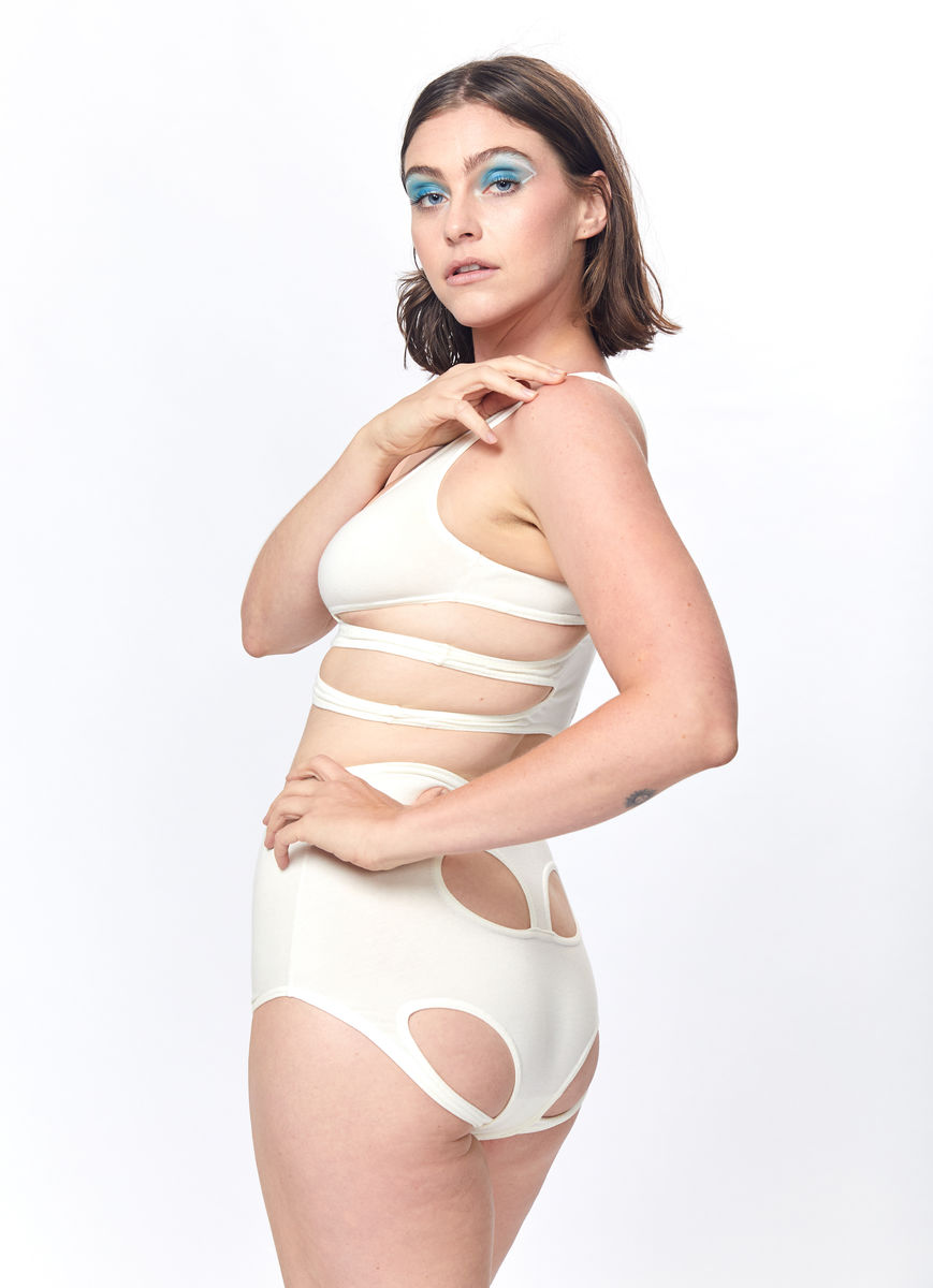 Pelvis Brief (White) - product images  of