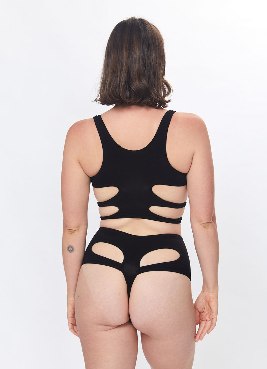 Pelvis Thong (Black) - product images  of