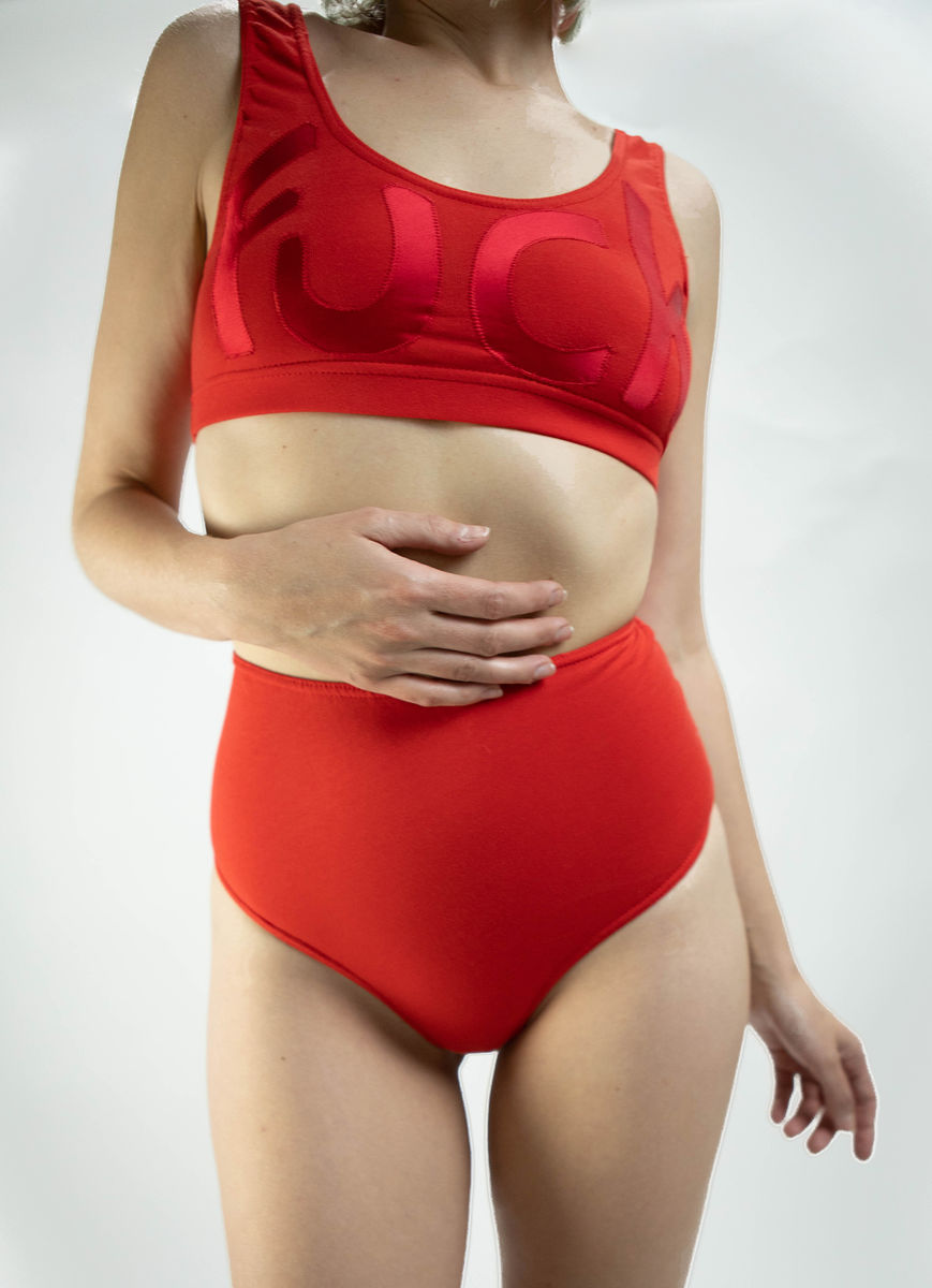 This fucking thong (RED) - product images  of