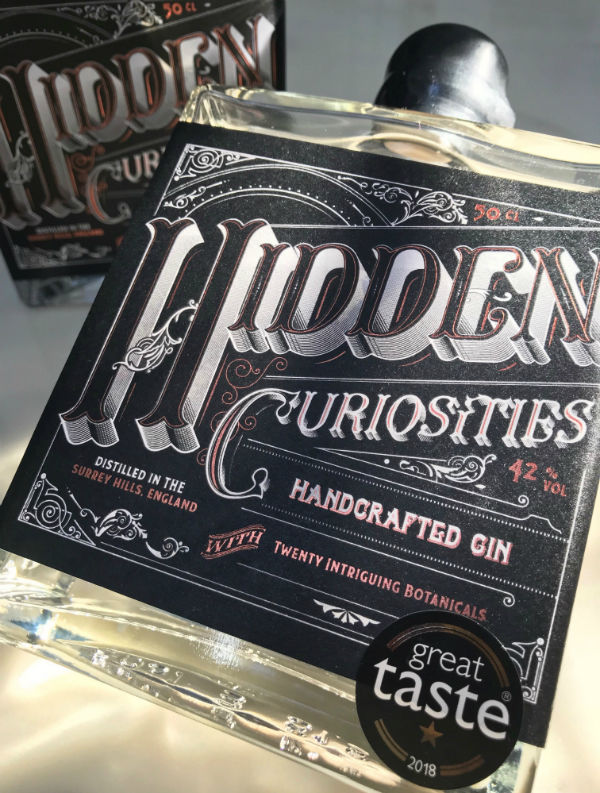 Hidden Curiosities Aromatic London Dry Gin ~ • ~ • Batch No. 6 • ~ • ~ - product images  of