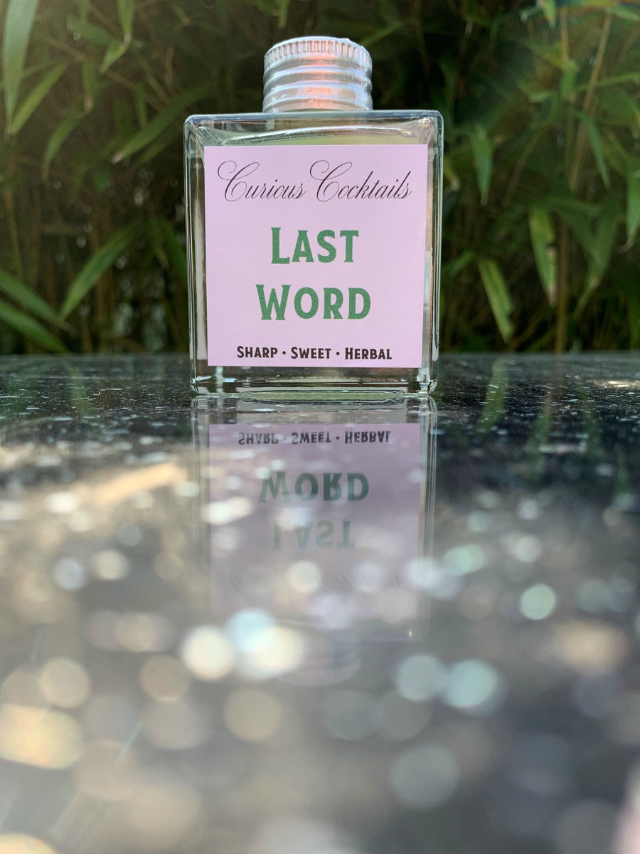Curious Cocktails: Last Word 100ml - product images  of
