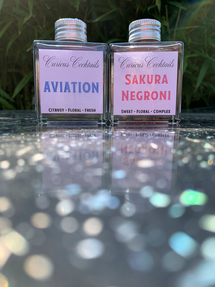 Curious Cocktails: Flying Sakura - product image