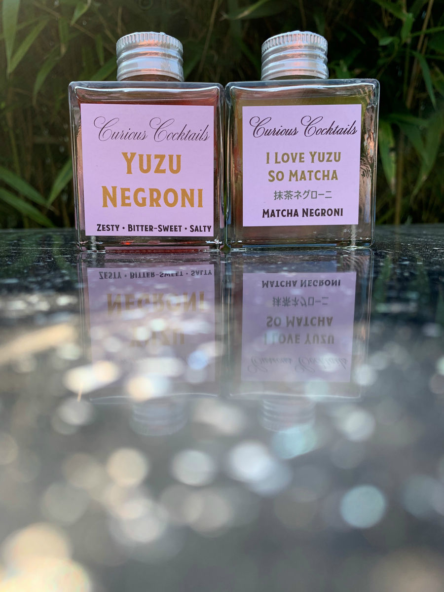 Curious Cocktails: Yuzu-licious Twin Set - product image