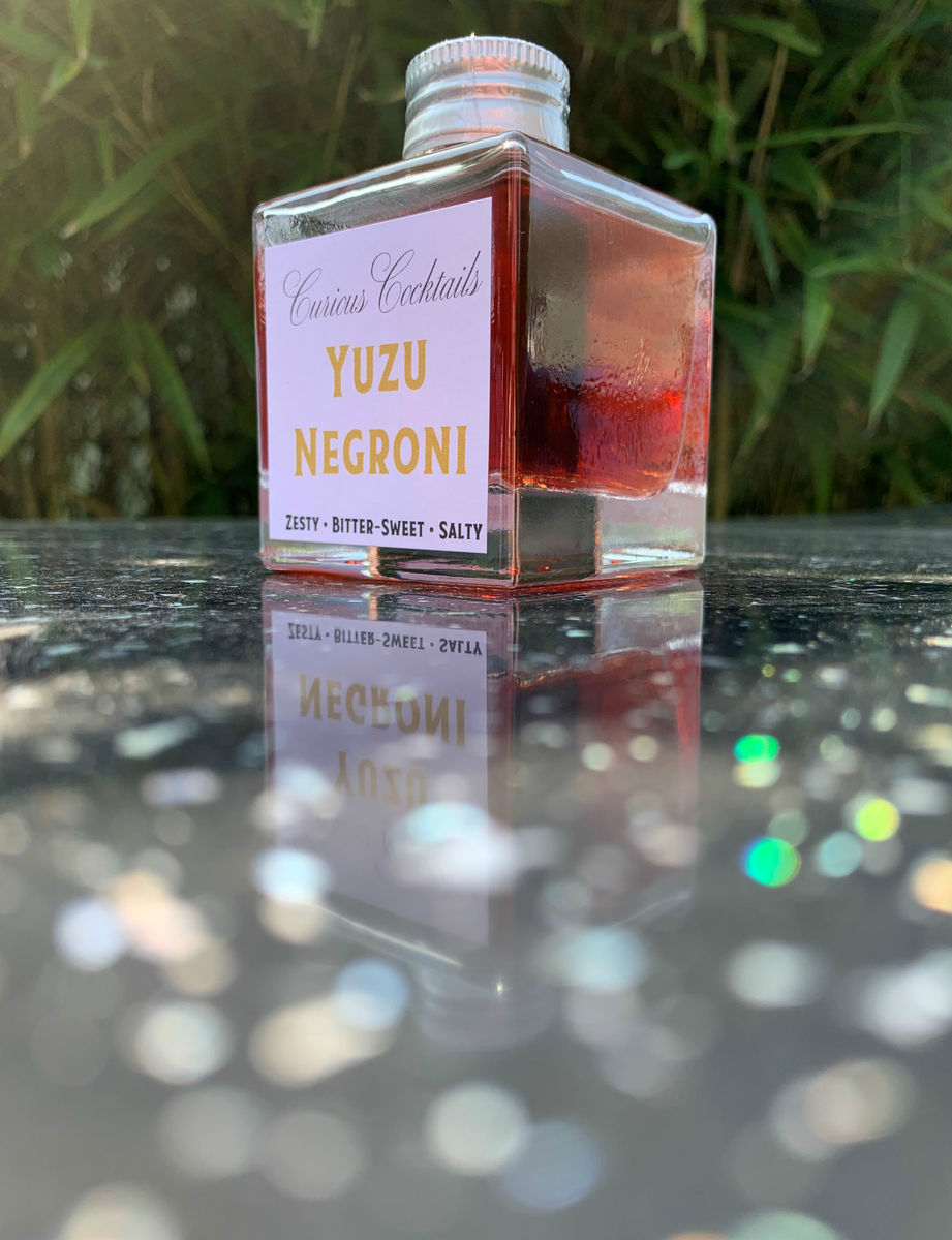 Curious Cocktails: Yuzu-licious Twin Set - product images  of