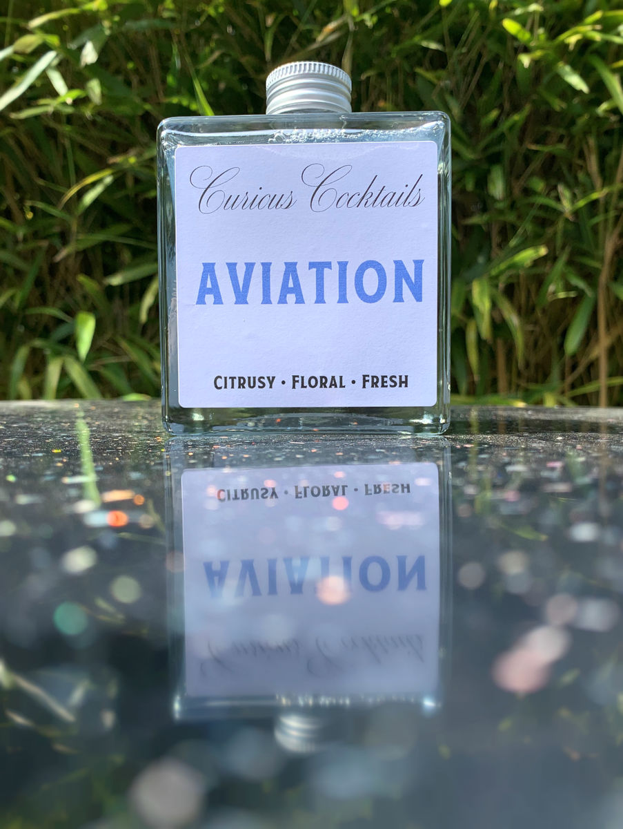 Curious Cocktails: Aviation 500ml - product images  of