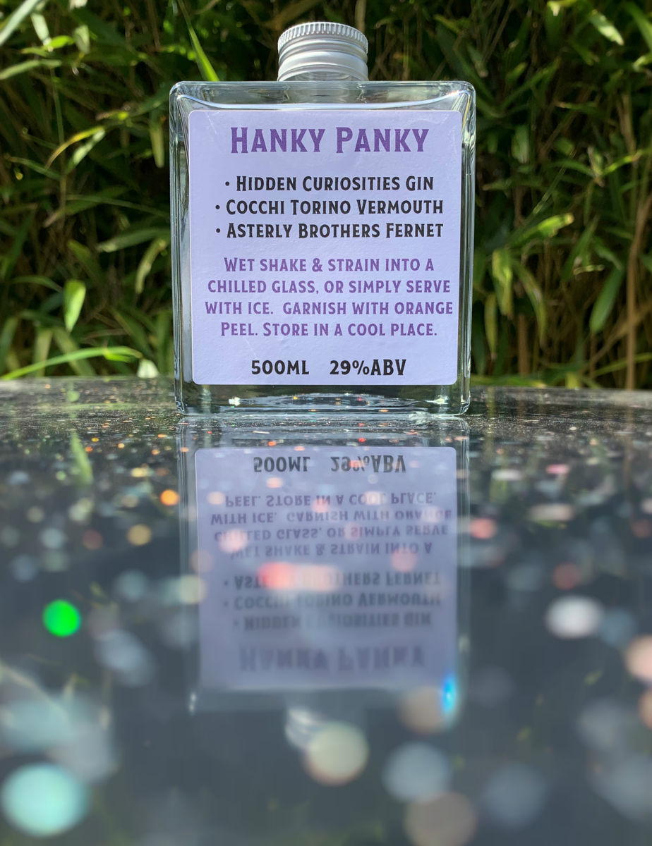 Curious Cocktails: Hanky Panky 500ml - product images  of