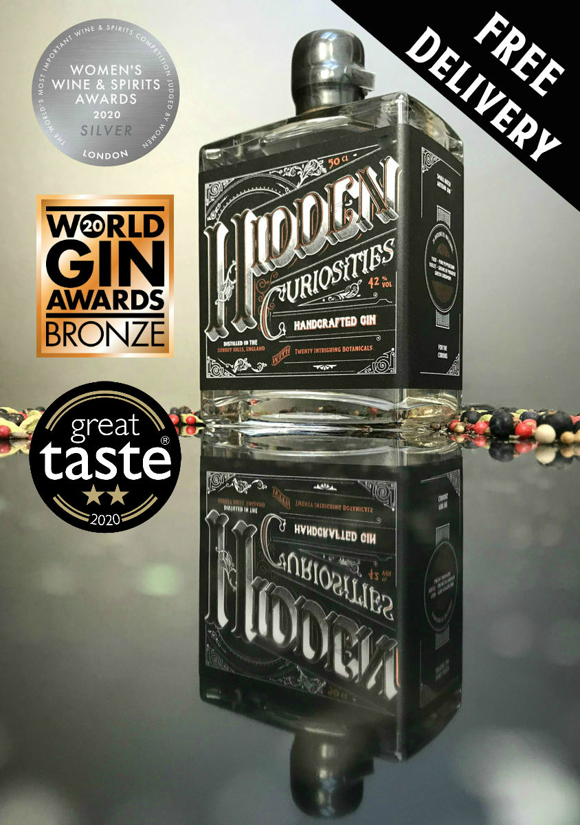 Hidden Curiosities Aromatic London Dry Gin Batch No. 6 - product image