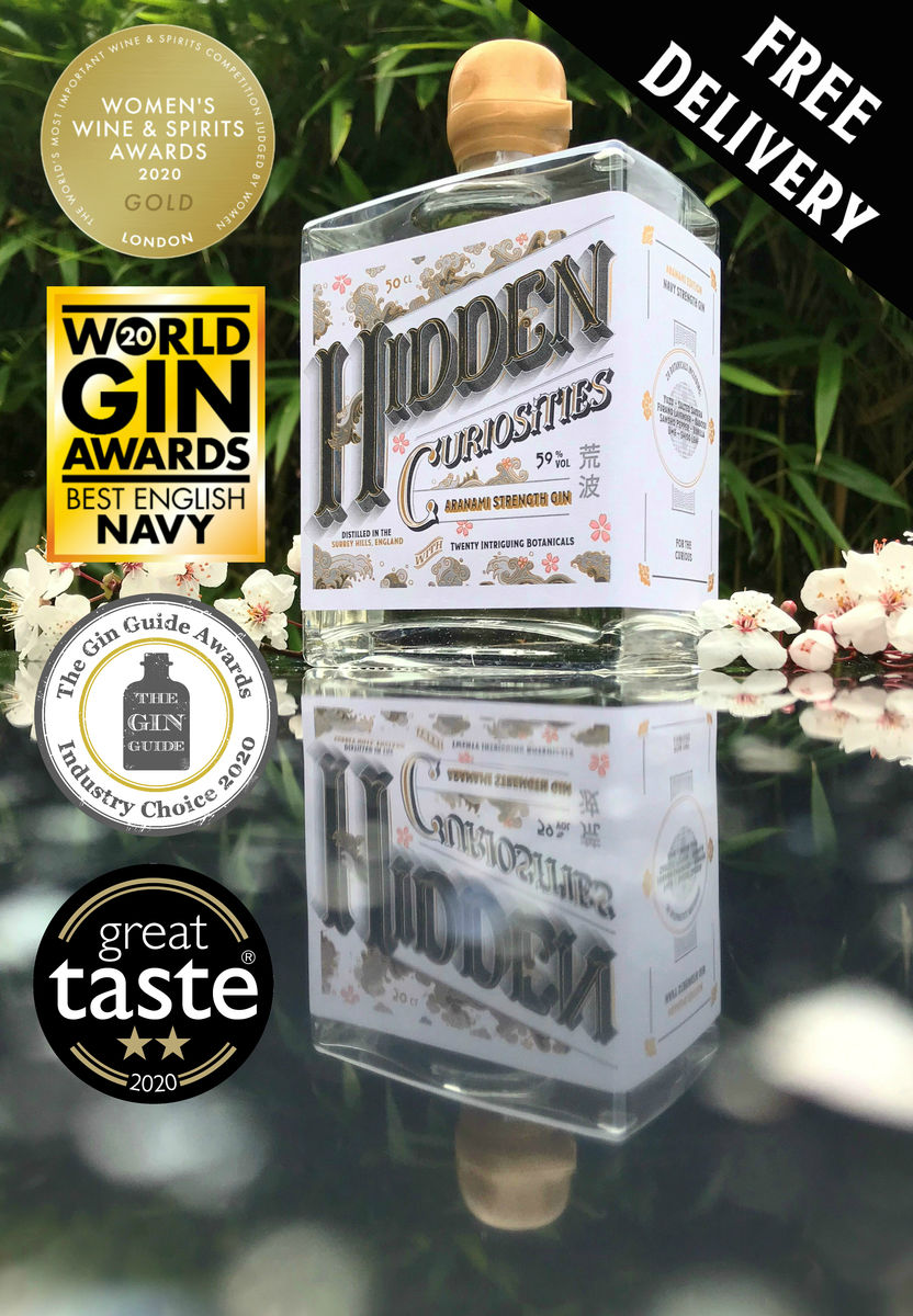 Hidden Curiosities Aranami Strength Gin - product images  of
