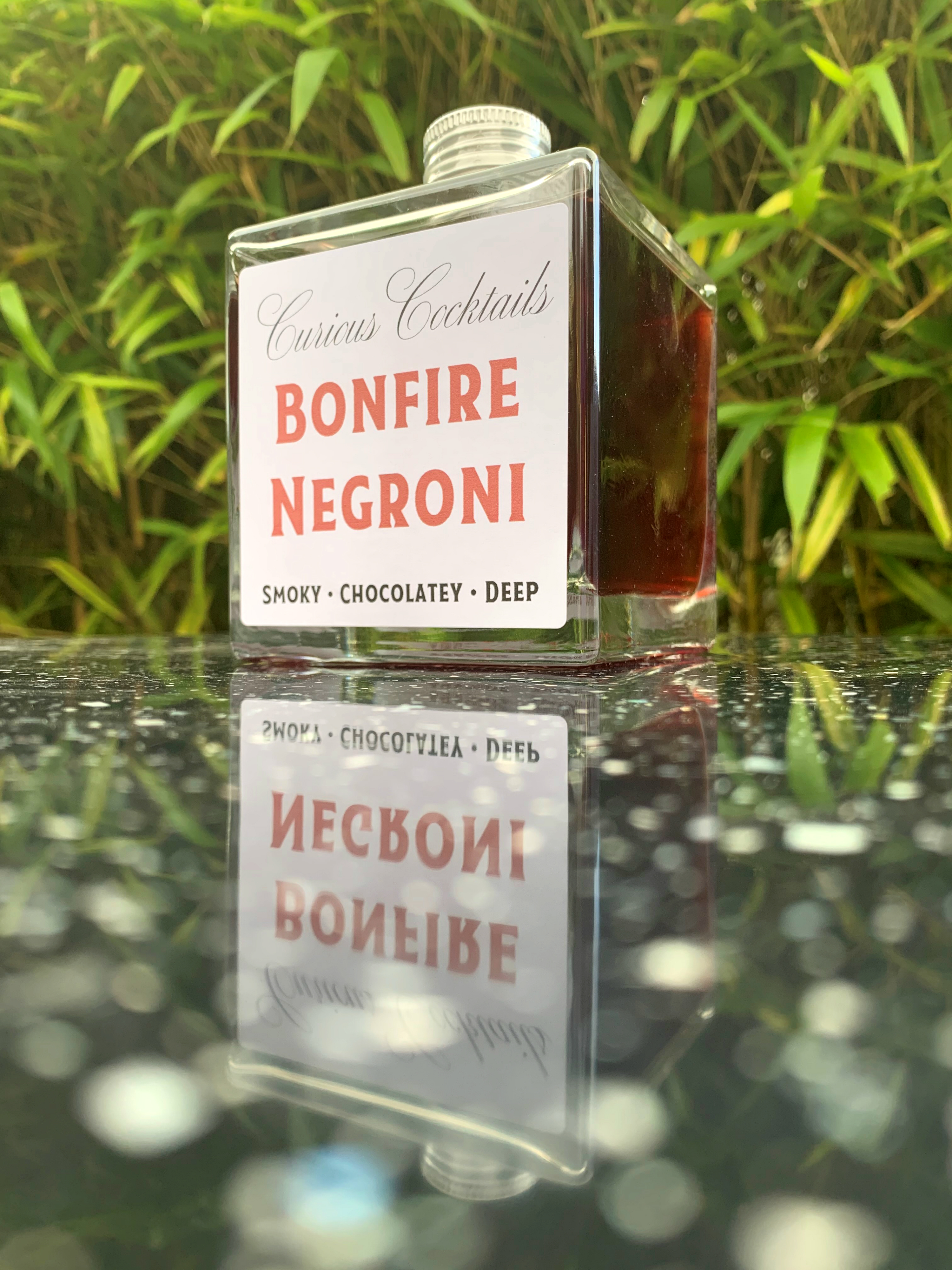 Bonfire Negroni premix cocktail large