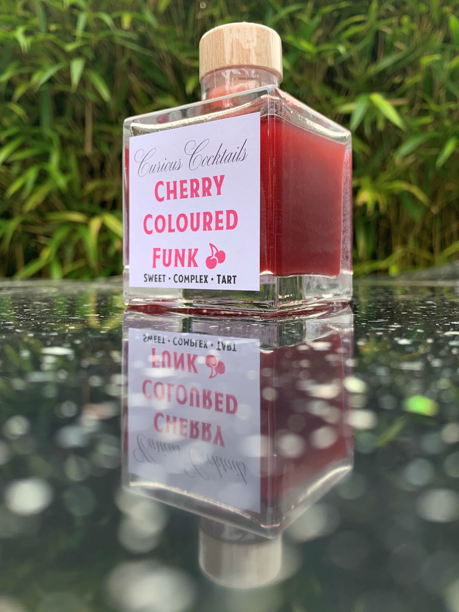 Curious Cocktails: Cherry Seafoam Cocktail Twin Set - product images  of