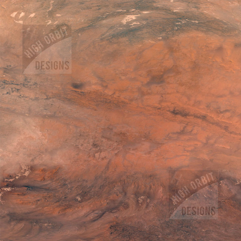 Red Planet 4x4 Mat - product images  of