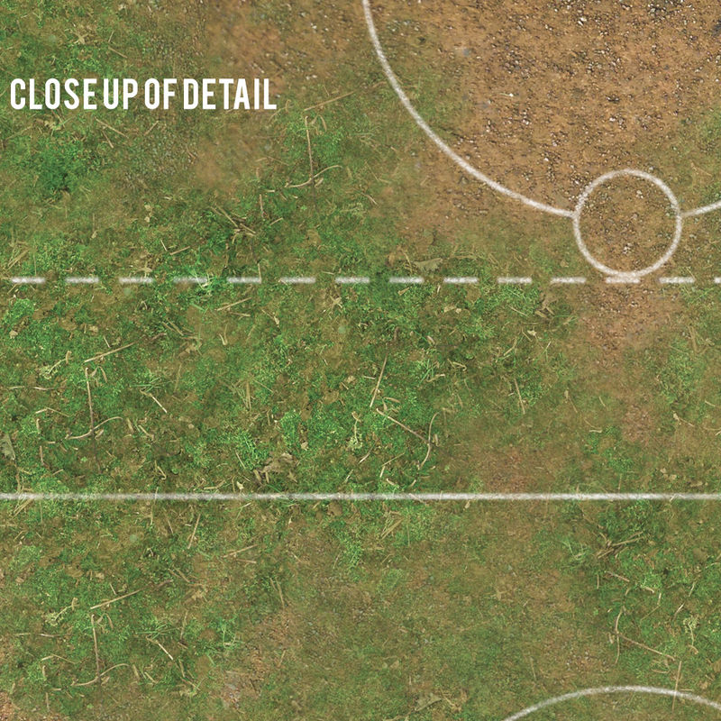 Grass pitch 3x3 Guild Ball compatible Mat - product images  of