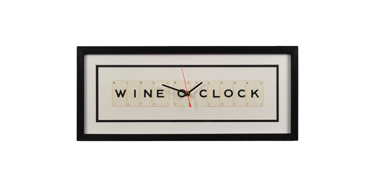 Wine O'Clock Clock - product image