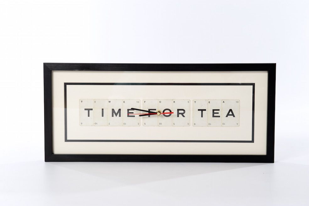 Time For Tea Clock - product image