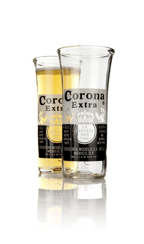 Corona Extra Upcycled Mexican Beer Glasses - product images