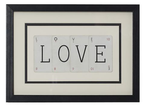 LOVE,vintage,playing,card,frame,upcycled, recycled, vintage, playing, cards, frame, art, love, gift, unique, wedding, anniversary, paper, valentines,