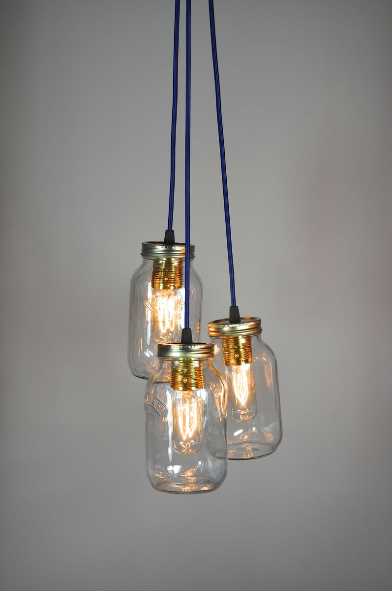 5 Jam Jar Chandelier - product images  of