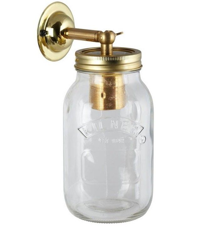 Jam Jar Wall Light - product images  of