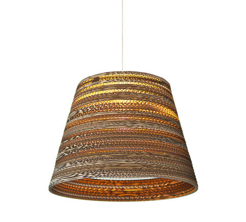 Recycled,Cardboard,Cone,Pendant,Light,recycled, greypants, cardboard, cone, pendant, light, upcycled, eco, sustainable, handmade, unique, statement, lighting