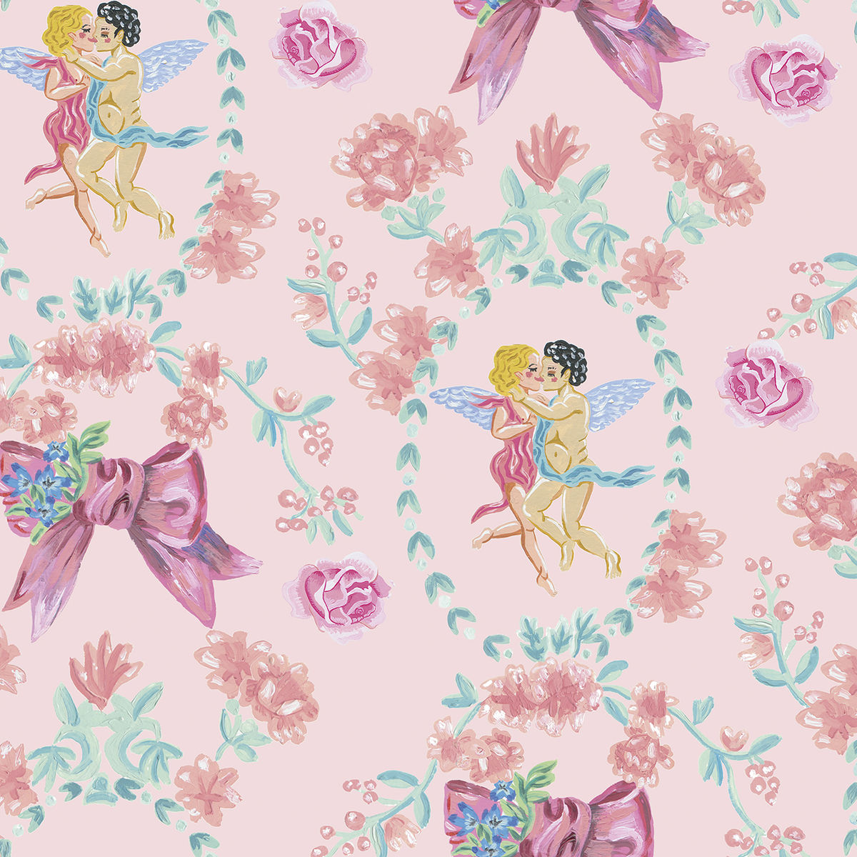 Kissing the Sky Wallpaper by Coordonne - product images  of