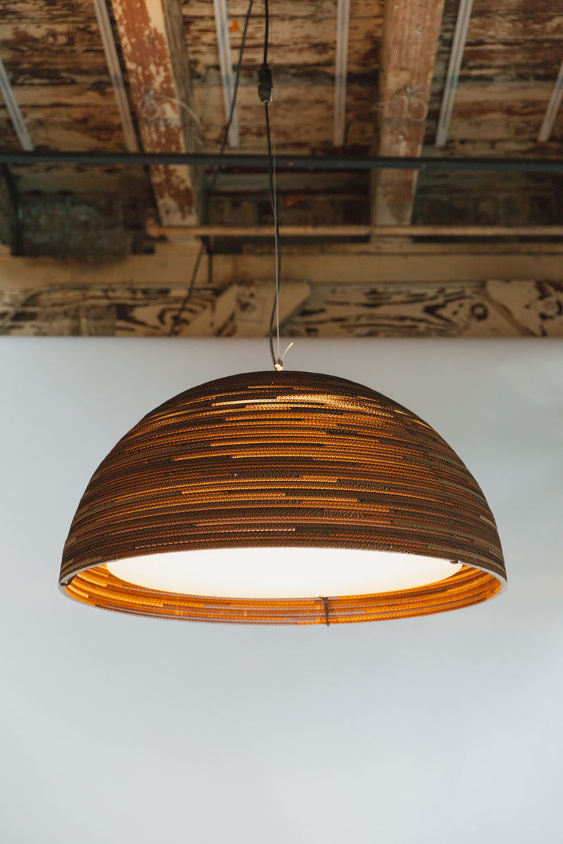 Greypants Dome Recycled Cardboard Scraplight - product images  of