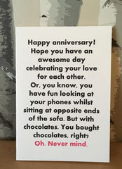 You,bought,chocolates,,right?,Paper_Goods,same_sex,couple_,anniversary_,rude,humour,funny,Mandy_Marsden,cumbria,Those_cards,cute,card,handmade