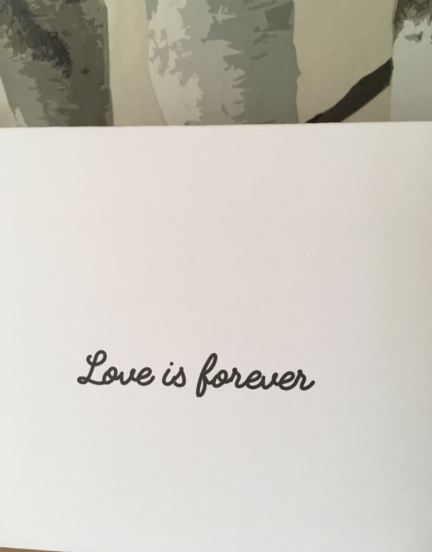 Love is forever - product image